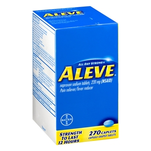 Aleve Caplets with Dollar 3 IRC