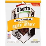 Oberto Mixed Beef and Bacon Jerky Display - 3.25oz. and 2.5oz.