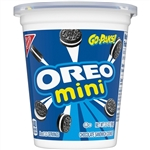 Oreo Go Paks Mini Chocolate Sandwich Cookies - 3.5 Oz.