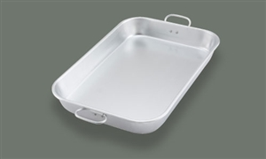 Aluminum Bake Pan with Handle - 17.75 in. x 11.5 in. x 2.25 in.