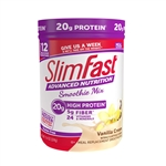 Slimfast Advanced Smoothie French Vanilla - 11.01 Oz.