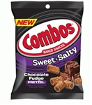 Combos Chocolate Fudge Pretzel Sweet and Salty - 6 Oz.