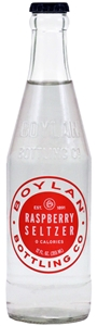 Boylan Bottling Raspberry Seltzer - 12 Fl. Oz.