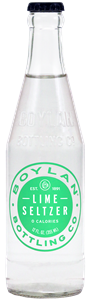 Boylan Bottling Lime Seltzer - 12 Fl. Oz.