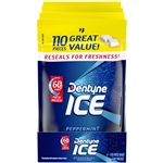 Dentyne Ice Gum Sugar Free Peppermint