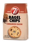 7 Days Bagel Chips Cinnamon Raisin - 3.17 Oz.