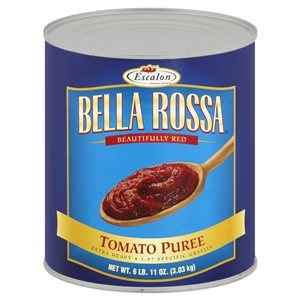 Bella Rosa Prepared Tomato Products Tomato Puree Heavy - 107 Oz.
