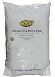 Brown Sugar Dark Organic - 50 Lb.