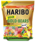 Haribo Confectionery Sour Gold Bears Stand Up Bag - 9 Oz.