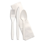 Senate Fork Knife Spoon Kit Napkin