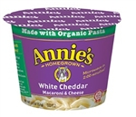 Annies MWO Macaroni and Cheese White Cheddar - 2.01 Oz.