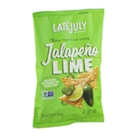 Late July Jalapeno Lime Classic Tortilla Chips - 5.5 Oz.