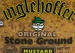 Inglehoffer Stone Ground Mustard - 144 Oz. Case of 4