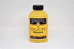 Beaver Dijon Mustard with Wine Squeezable - 12.5 Oz.