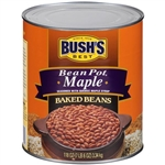 Bushs Best Bean Pot Maple Baked Beans - 118 Oz.