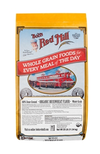 Bobs Red Mill Organic Buckwheat Flour - 25 Lb.