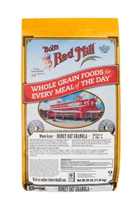 Bobs Red Mill Honey Oat Granola - 25 Lb.