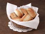 Flat Pack White  Airlaid Basket Liner Napkin - 16 in. x 16 in.