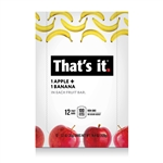 Apple and Banana Snack Bar Gluten Free - 1.2 Oz.