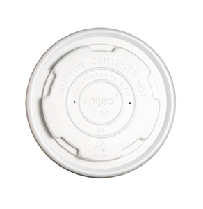 Compostable Bowl Lid - 8 Oz.