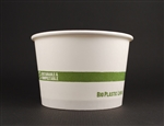 Paper Biodegradable Bowl - 16 Oz