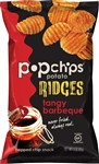 Popchips Potato Ridges Tangy Barbeque - 3 Oz.