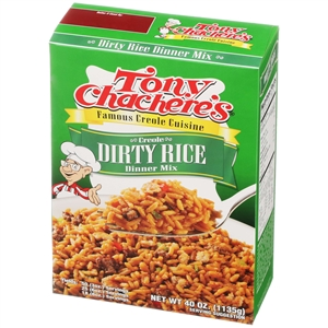 Tony Chacheres Creole Dirty Rice Mix - 40 Oz.