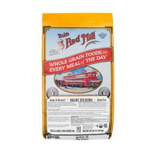 Bobs Red Mill Organic Red Quinoa - 25 Lb.