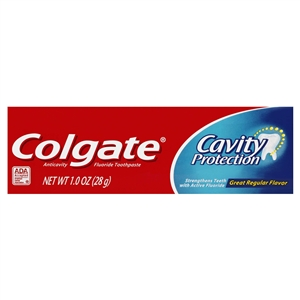 Anticavity Toothpaste Great Regular Flavor - 8 Oz.