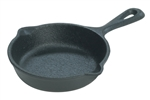 Mini Preseason Cast Iron Skillet - 3.5 in.