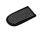 Hot Handle Holder Black and White Stripe