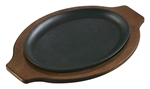 Handleless Oval Serving Griddle - 10 in. x 7.5 in.