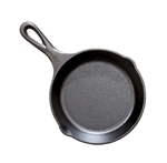 Cast Iron Skillet Pre Seasoned Heat Enhanced - 6.5 in.