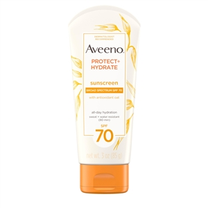 Aveeno Protect and Hydrate Lotion SPF 70 - 3 Oz.