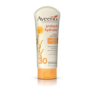 Aveeno Protect and Hydrate Lotion SPF 30 - 3 Oz.