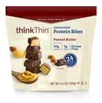 ThinkThin Peanut Butter Unwrapped Protein Bites - 0.281 Lb.