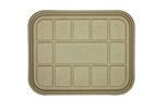 Fiber Catering Tray Lid for 104-120 Oz. Compostable