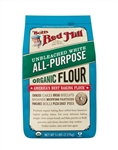 Bobs Red Mill Organic Unbleached White All-Purpose Flour - 5 Lb.