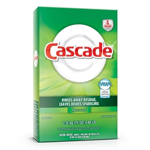 Cascade Auto Dishwashing Powder Regular - 60 Oz.