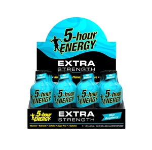 5-Hour Energy Blue Raspberry Extra Strength - 1.93 Fl. Oz.