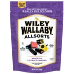 Wiley Wallaby Licorice Allsorts - 8 Oz.