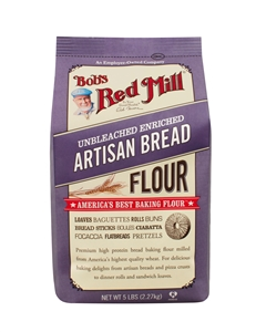 Bobs Red Mill Artisan Bread Flour - 5 Lb.
