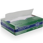Rite Rap Interfolded Light Weight Dry Waxed Deli Papers White - 7.5 in. x 10.5 in.
