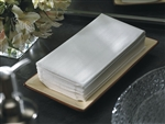 Quarter Fold White Linen-Like Paper Towel - 8 in. x 17 in.