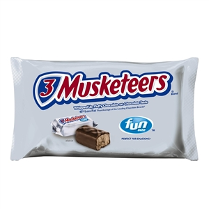 3 Musketeers Candy Fun Size - 10.48 Oz.