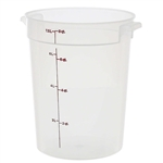 Round Storage Container Translucent - 8 Qt.