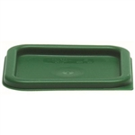 Square Kelly Green Lid for 2 and 4 Quart Storage Container