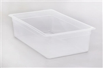 Polypropylene Translucent Food Pans - 6 in.