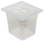 Translucent Food Pan Sixth Size - 6 in.