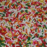 Rainbow Sprinkles 6 Color - 6 Lb.